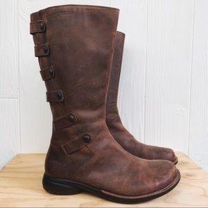 Merrell Tetra Launch Waterproof Boots Cherry Brown